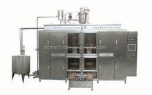 Automatic aseptic pouch filling and sealing machine