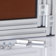 mechanical door lock for door and windows, machine guard, protective barriers