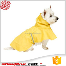 Wholesale dog raincoats cheap price, new design pet raincoat