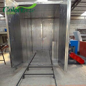 Economical Gas Fired Powder Paint Coat Curing Oven Design