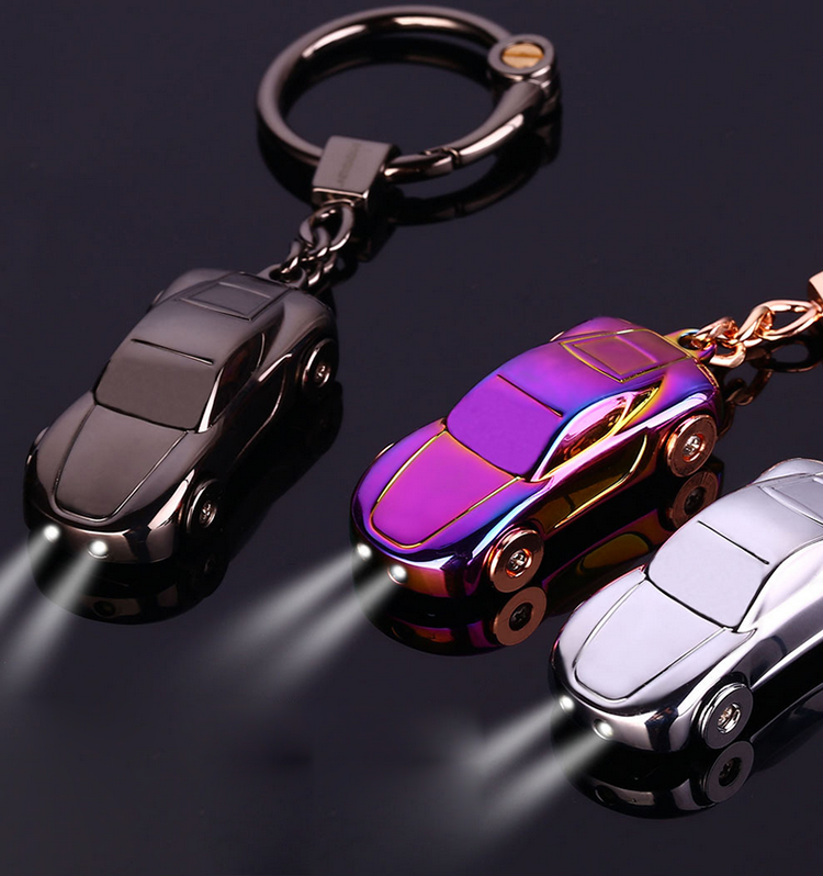 2017 Car Shape Led Keychain Wedding Gifts For Guests Wedding Return Gift Souvenirs Fast And Furious Metal Keychain
