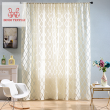 Home Bindi CBX005 Blackout Readymade Window Cotton Blackout Curtains