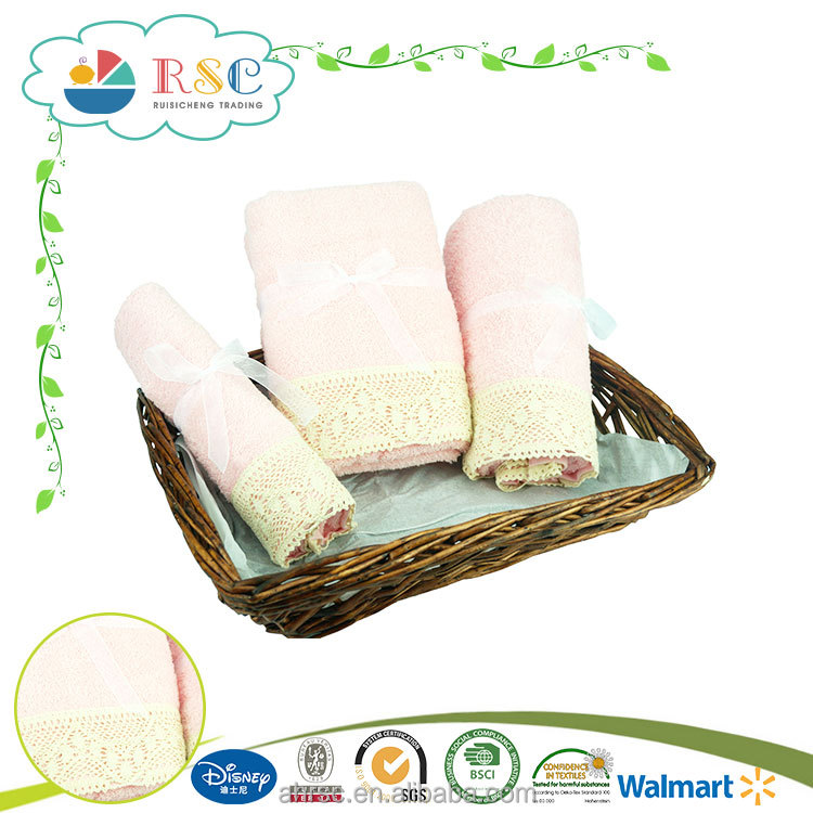 Good quality bright colored bath towel