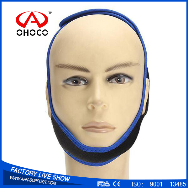 2016 new products professional anti snoring chin belt, comfortable snore stopper