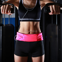 Sport running belt Fitness Workout Belt Waist Bag wholesale in China