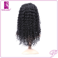100% Peruvian Glueless Human Hair Swiss Lace For Wig Making