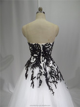 2015 latest wedding gown designs real pictures wedding dress china lace black and white wedding dresses for sale onlin