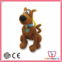 GSV ICTI Factory new fashion christmas gifts black plush dog