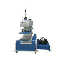 automatic press leather embossing machine