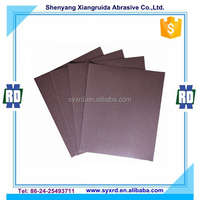9 in.x11 in. Sand Paper Emery Cloth for Metal and Glass Polishing
