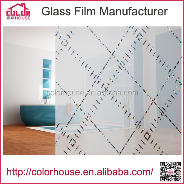glass door water transfer laser printing film