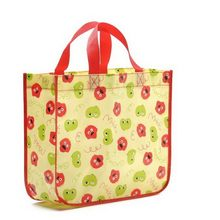 Good quality hotsell art laminated non woven tote bag