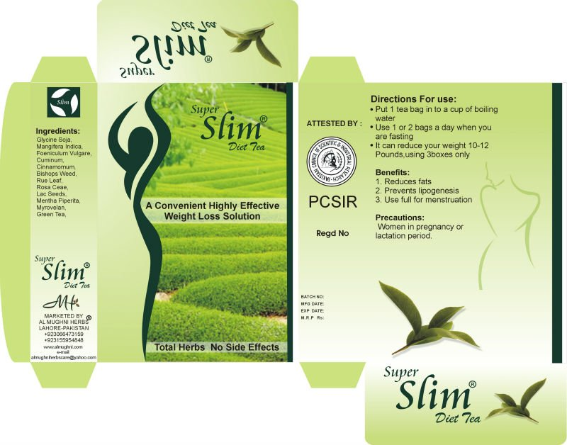 super slim diet tea