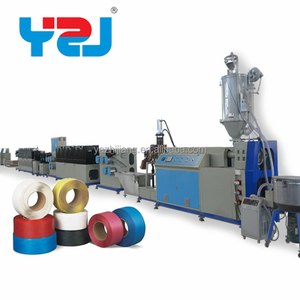 China supplier bottle flakes make packing belts plant pet straps production line pet belt machine