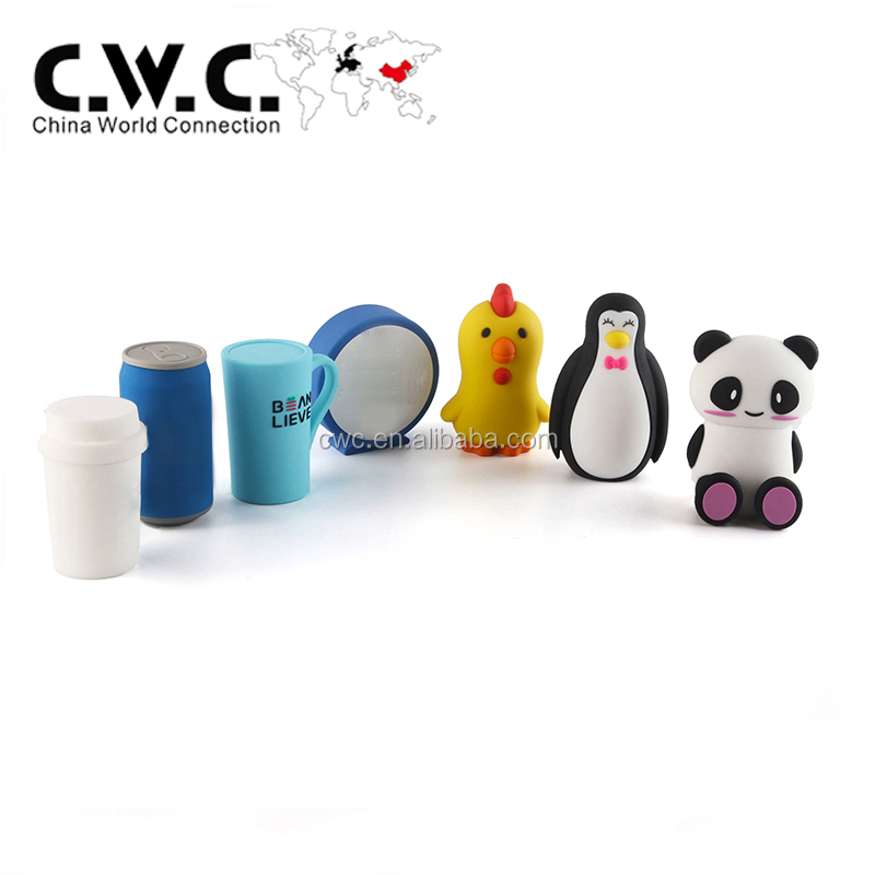 wireless music custom PVC cartoon can shaped bluetooth speaker for gift promotion with free sample