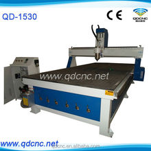 woodworking vacuum bed cnc router/used cnc wood carving machine from China QD-1530
