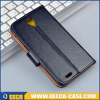 Wholesale price leather flip phone case for lenovo s650