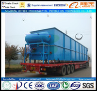 SS remove flotation unit for sewage water cleaning system, DAF flotation units