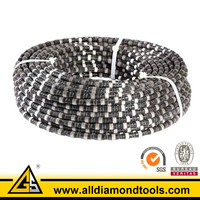 Sintered Beads Diamond Cutting Wire For