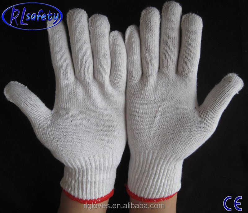 china product cotton knit gloves one size fits all worker