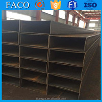 Tianjin square rectangular pipe ! pipe stubs good quality nickel plated square steel pipe tube