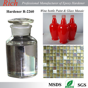 Glass paint epoxy curing agent, Decoration and crystal drop glue, decoration art Epoxy Hardener R-2260