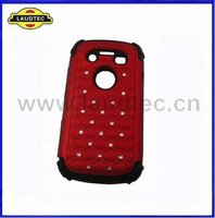 With Bling Combo Hybrid Silicone Cover Case for BlackBerry Bold 9790
