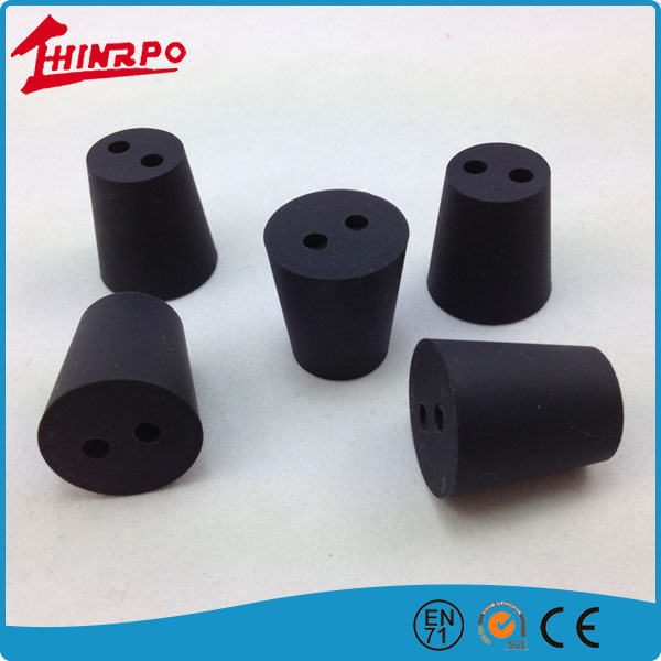 OEM Custom molded small rubber 4mm hole plugs,China Manufacture silicone rubber hole plug for Hole