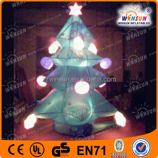 Outdoor christmas inflatable led decorations