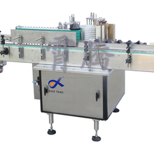 barcode sticker machine bottle labeling machine, cold glue label machines