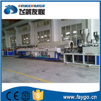 Faygo Factory hdpe double wall corrugated pipe machine