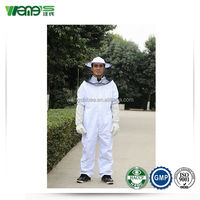 Beekeeping Protection Garment Cotton Suit with Veil