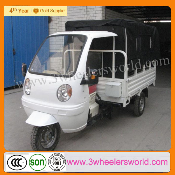 Kingway Brand 2014 New Design Motorized Gas Scooter /3 Wheel Flatbed Trike for Cargo for sale