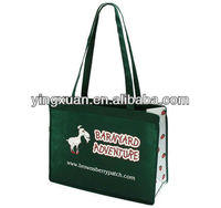 wholesale promotional boutique logo printed recyclable reusable foldable custom made cheap shopping bags