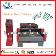 10-30MM SS cnc metal plasma cutting machine / heavy industry