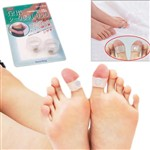 Body Slimming Silicone Magnetic Toe Rings Lose Weight Free shipping