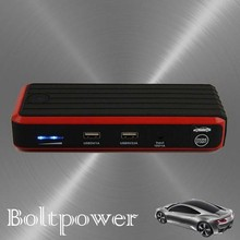 12V/24V lithium battery jump starter jumpstart car and charge for auto electronics like gps, digital recorder, dvd player