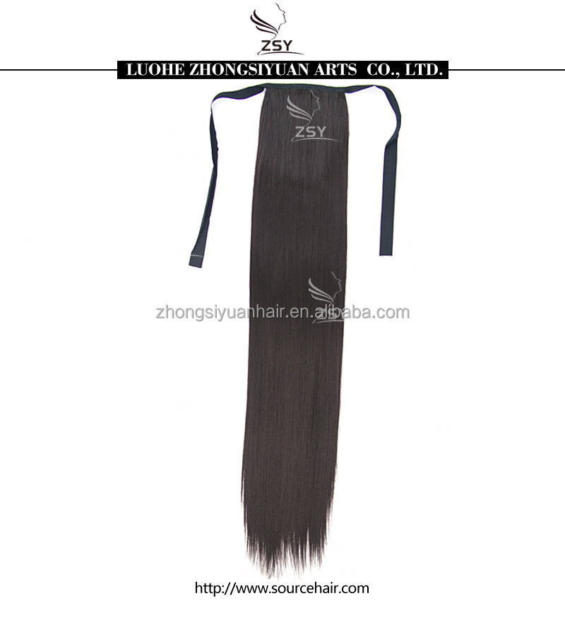 ZSY hot sale afro synthetic ponytail
