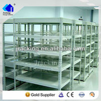 Jracking galvanized Q235 warehouse steel selective metal dvd storage rack