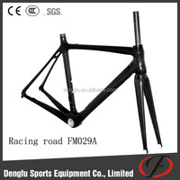 Carbon frame road bike Dengfu road bicycle frame FM029A compatible to DI2 carbon bicycle for road