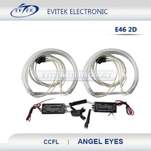 COB car led light angel eyes white color changing CCFL led angel eyes ring e46 80mm 85mm 90mm 95mm