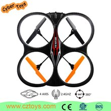 Birthday gift four channel 2.4G rc drone toy plane