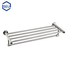 stainless steel extension double bathroom towel bar