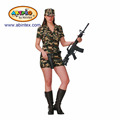 camo soldier costume (08-354 ) as Halloween costume for lady with ARTPRO brand