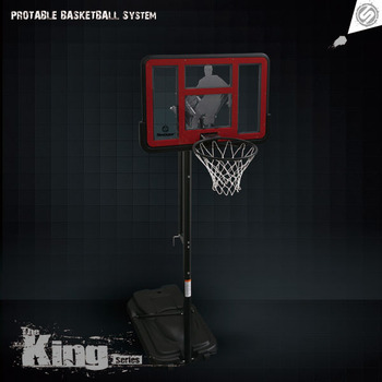 Swager The King Basketball Goal