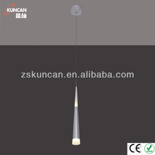 2013 New arrival Silver simple modern pendant lamp