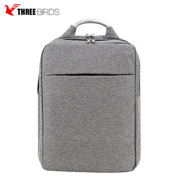 Stylish Black Business Computer Backpack Wholesale, Classic Nylon Waterproof Laptop Backpack Bag for Men and Women