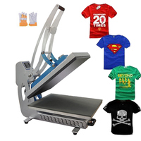t-shirt heat press printing machine, flat heat press machine ,auto open heat press machine
