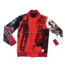 custom men basketball jackets