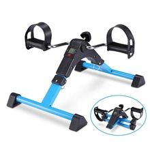 Steel Mini Leg Exercise Bike Indoor Gym Trainer Mini Pedal Cycle Exercise Bike With Digital Counter